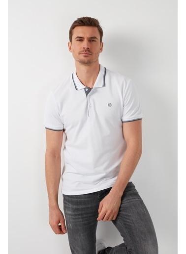 Buratti Buratti Polo Yaka Erkek T-Shirt 5902118 Beyaz